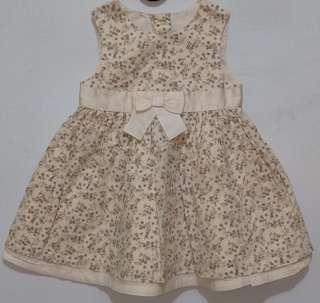 Dress anak 9-15month