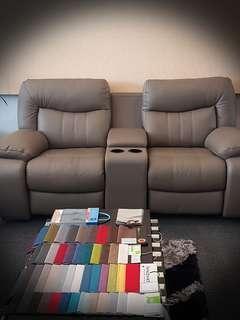 3R+2R+1R Full leather sofa recliner set