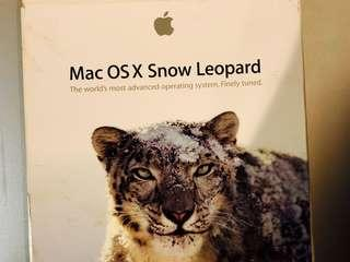 Apple OS X Snow leopard installation disc