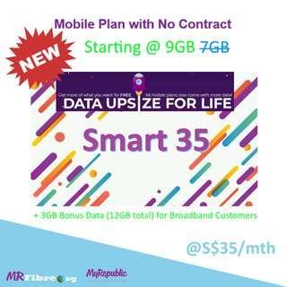 Smart 35 mobile plan | MyRepublic Mobile