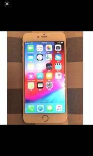 iPhone 6plus金色64GB