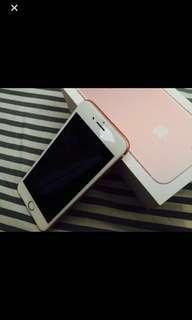 Iphone7玫瑰金32GB