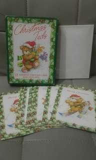 (柴灣站取$20) Christmas Teds Card