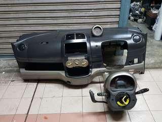 Dashboard Passo racy ada rpm skali wiring complete dgn throttle body dan intake