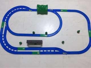 TOMY train track set