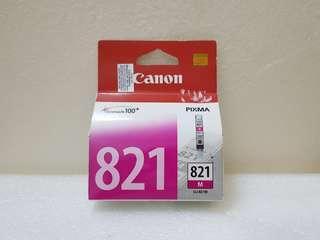 Canon CLI-821M Cartridge (Magenta printer ink)