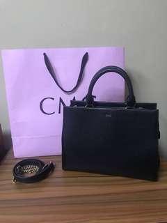 CMG slingbag and hand bag