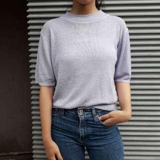 - knit top -