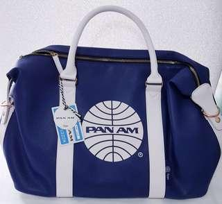 Pan Am weekend bag