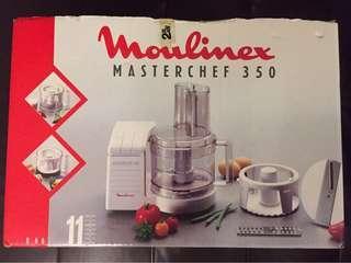 Used Working Moulimex MasterChef 350 Blender Chopper For Sale