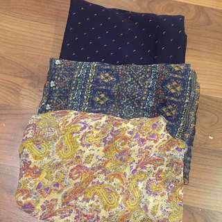 3 for RM12 Shawls