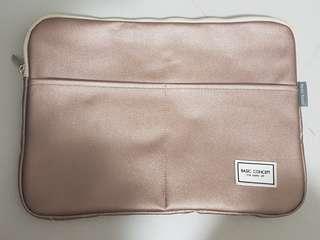 "BN Sparkle Pink Laptop Casing 13"""