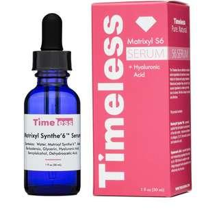 🚚 TIMELESS Matrixyl Synthe'6 Serum 30 ml (USA)