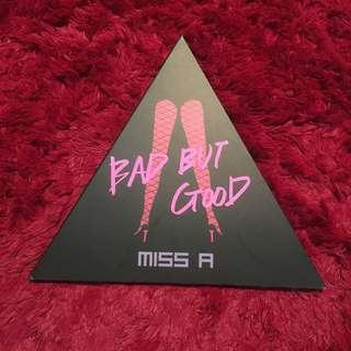 BAD BUT GOOD Album - Miss A