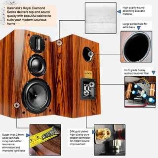Balenald Royal Diamond BM36 Hi-End 3-Way Speaker
