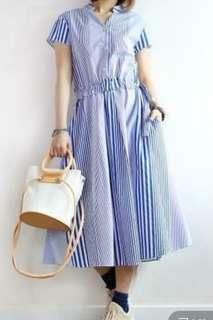 lazynoon striped dress