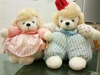 Pair of Soft toys