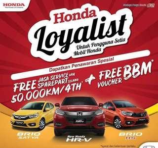 Apresiasi spesial untuk honda loyalist untuk All New Honda Brio