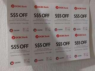 Ocbc fuel vouchers