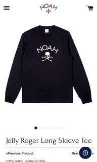 Noah Jolly Roger long sleeve t shirt