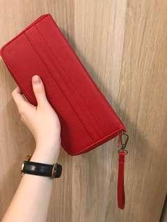Woman's Red Color Purse
