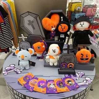 bts bt21 halloween version