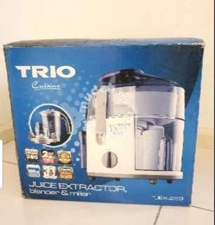 Trio Juice Extractor, Blender and Miller