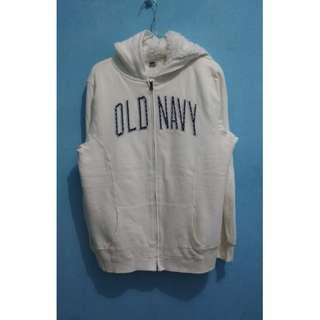Old Navy Pile Lined Zipper Hoodie (Daleman bulu)