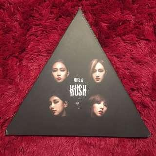 HUSH Album - Miss A