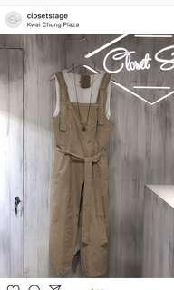 Closet stage olive green dress