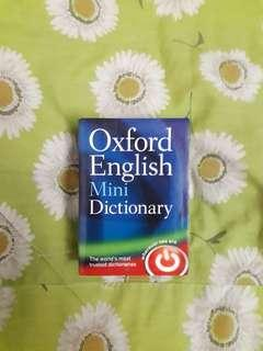 Preloved: Oxford English Mini Dictionary