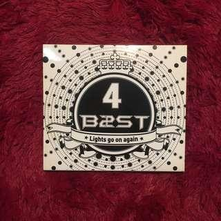 4 B2ST - Lights Go on Again Album