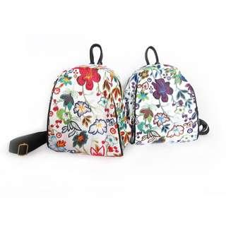 NEW Floral Backpack