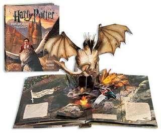 Harry Potter 哈利波特 pop up book 立體書
