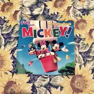 Fun with Mickey Activity Book