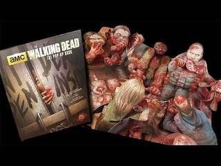 Walking dead 喪屍 zombie 立體書 pop up book
