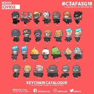 AFASG 2018   Keychain Catalogue 2/7   Booth CH102