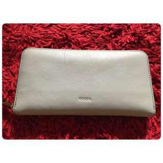 Fossil Emma Long Wallet Zip Seaglass