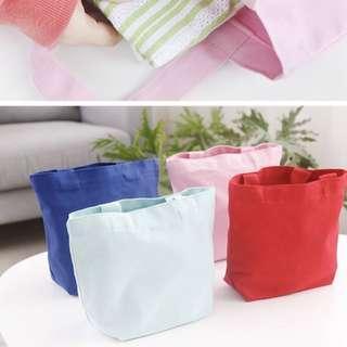 BN Dark Blue Lunch Bag