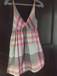Old Navy Plaid-printed Dress