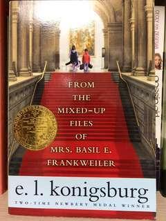 🚚 二手書 英文 原文書 From the mixed-up files of Mrs Basil E. Frank Weiler / e.l. konigsburg