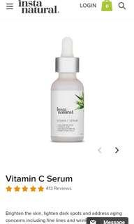 Instanatural vitamin C serum with Ferulic acid 30ml