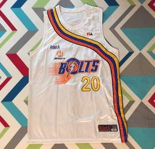 PBA Jersey Game Worn - Jared Dillinger (Meralco Bolts)