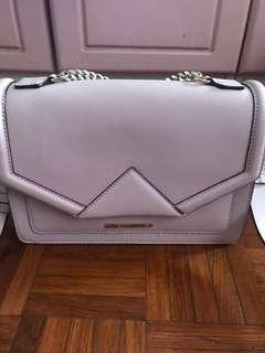 Karl Legerfeld real leather bag