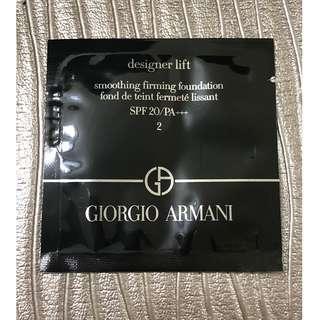 GIORGIO ARMANI 設計師V型緊致粉底液 SPF20