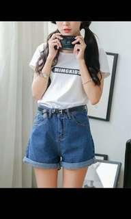 🚚 深藍色短褲