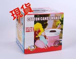 🚚 現貨/粉色復古推車家用棉花糖機