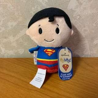 Hallmark itty bittys - 雙面 Clark Kent as Superman