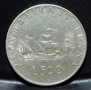ITALY L500 11克成色835銀幣