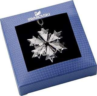 Swarovski little snowflakes ornaments